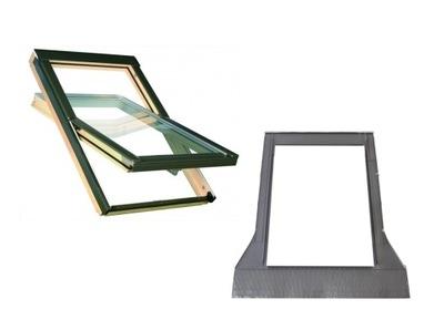Окно-окна крыши OptiLight B 78x140 см + воротник