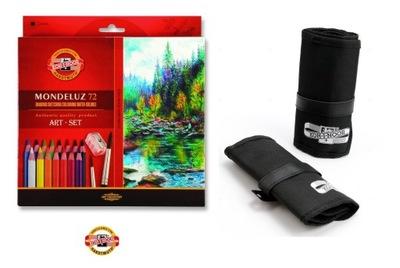 KOH-I-NOOR farebné Ceruzky 72 Mondeluz akvarel + 2 prípad