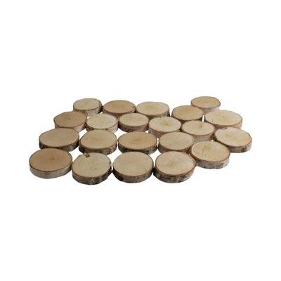 Диски пластыри дерева деревянные 3 -9 см 80 штук !