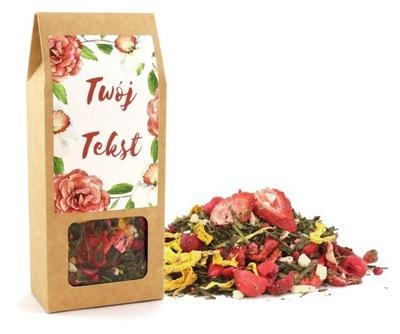 чай подарок в красивую коробку ВАШ ТЕКСТ