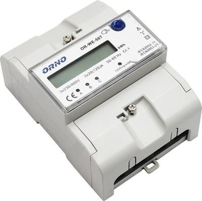 Trojfázový ELEKTROMER 3x20 120A ALEBO-SME-507 ORNO