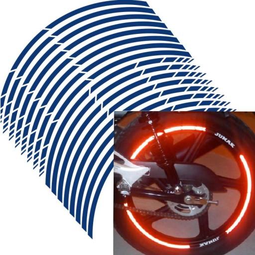 наклейки paski дисков рант колеса honda yamaha отражатель, фото