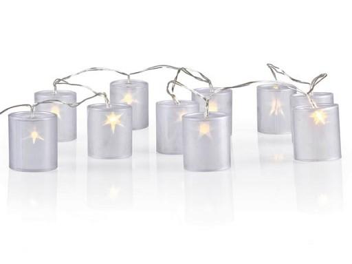 Lampki Dekoracyjne Led Girlanda Holograficzna