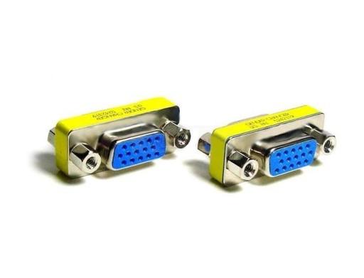 Łącznik Adapter Gender VGA - VGA 2x żeński gniazdo