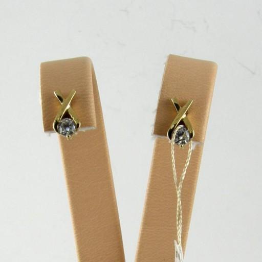 Kolczyki sztyfty Złote pr.333 eleganckie Verona