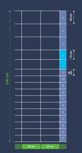 SIATKA LEŚNA 200/17/30 M AS (ocynk 215g/m2)   50mb