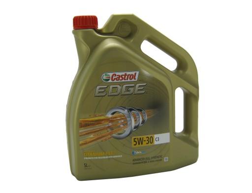 OLEJ CASTROL EDGE Titanium C3 5L 5w30 norma BMW