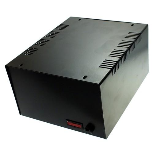 Super Obudowa metalowa T59 CZARNA bezpiecz.160x190x100mm 7234605568 UI84