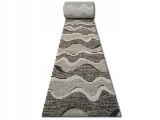 Dywany łuszczów Chodnik Shadow 120 Cm Fale Q1222