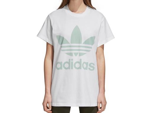 ADIDAS ORIGINALS Koszulka BIG TREFOIL w kolorze białym