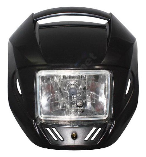 TUNING WIND DEFLECTOR BLACK SQUARE THE THE LAMP (THE LANTERN) H4 E11
