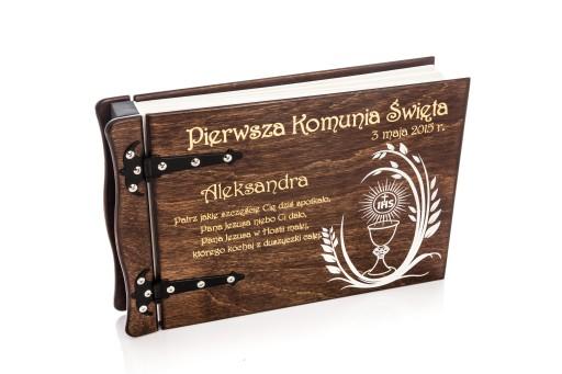 Album Drewniany Na Zdjecia Komunia Swieta 2018 Fotografia Sklep Internetowy Allegro Pl