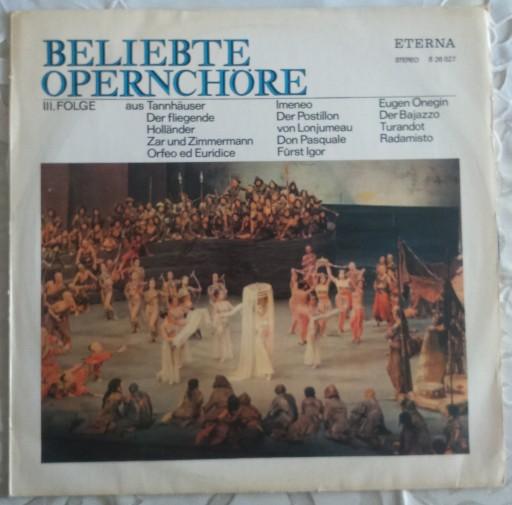 ZESTAW BELIEBTE OPERNCHORE - 3 LP