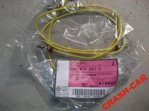 VW AUDI FIBER CABLE CABLE NEW 000979243C