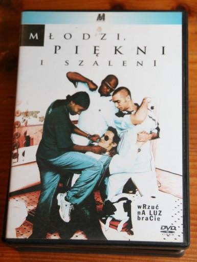 MŁODZI PIĘKNI I SZALENI    DVD