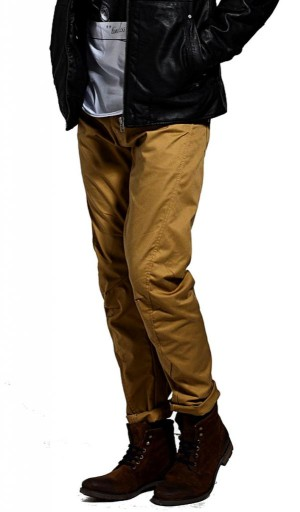 JACK&JONES spodnie dla faceta DULL GOLD 28/32
