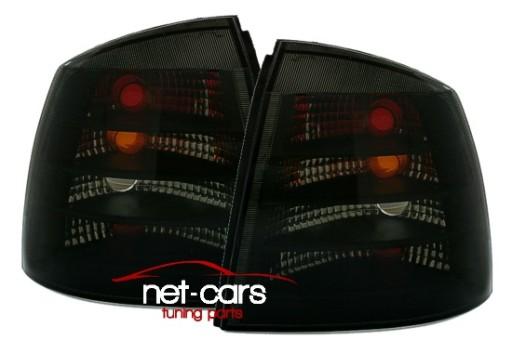 Lampy Tylne Opel Astra Ii G Dymione 97 03 R Czarne