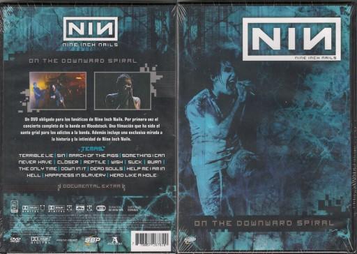 NINE INCH NAILS - On The Downward Spiral DVD [ARG]