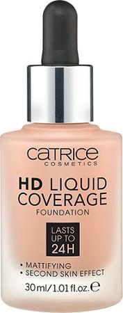 Catrice Podkład HD Liquid Coverage 010 020 030 040