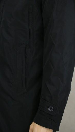 Elegancki Płaszcz - Granatowy - Gustaff - 3XL