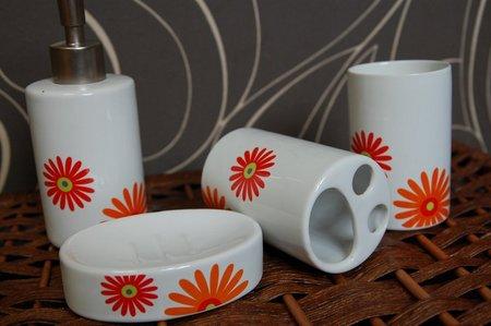 Zestaw łazienkowy ceramika łazienkowa 4 elementy