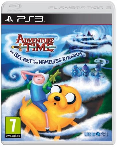 ADVENTURE TIME SECRET OF THE NAMELESS KINGDOM PS3