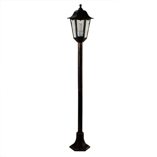 Słupek ogrodowy 120cm RETRO(4023) LATARNIA LAMPA