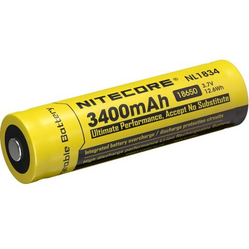 Akumulator Li-Ion NITECORE NL189 18650 3400mAh
