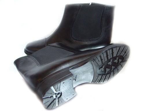 buty z wysokim podbiciem damskie zimowe