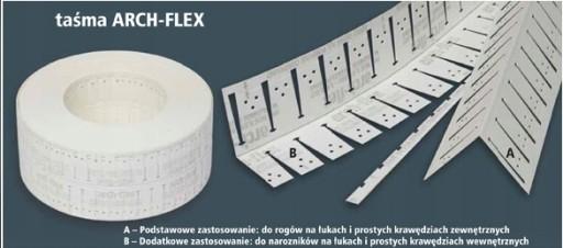 cee1930788 Taśma Strait-Flex z USA do łuków G-K ARCH-FLEX 15m 6738430761 ...