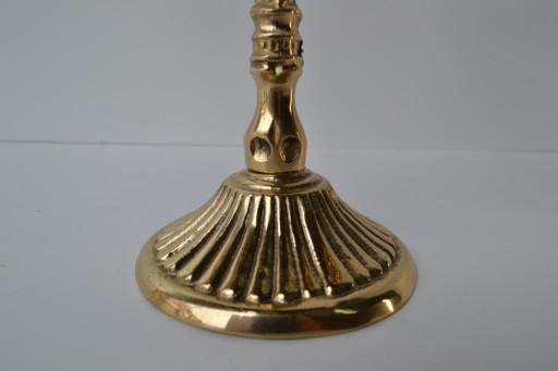 Świecznik 2-ramienny Mosiężny Mosiądz .:Greko:.