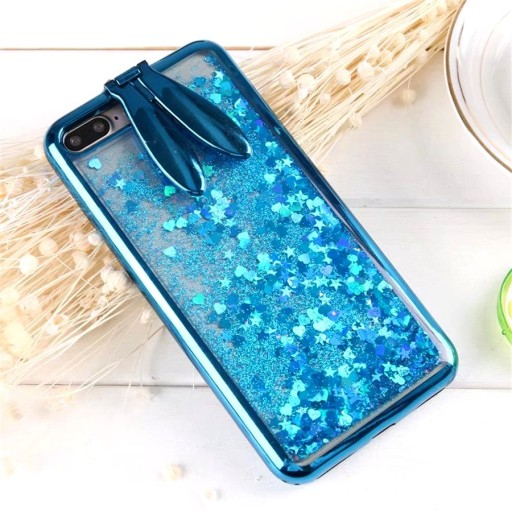 Etui Brokat Uszy Zając Blue iPhone 6 6S 4.7""