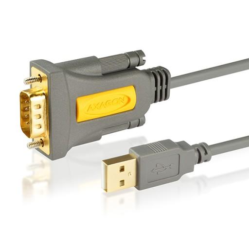 Adapter konwerter USB RS232 COM DB9 Chip PROLIFIC
