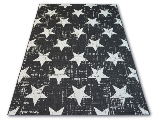 Dywany łuszczów Sznurkowy 140x200 Gwiazdki B292