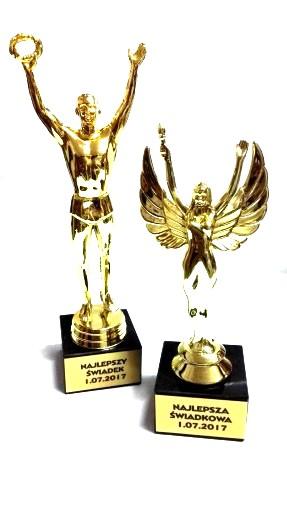 2x Statuetka Slubu Podziekowania Swiadkow Rodzicow 6878645138 Allegro Pl