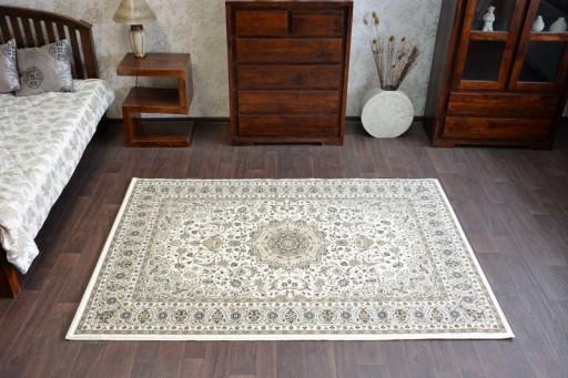 Dywany łuszczów Klasik 200x300 Rozeta Beż At1383