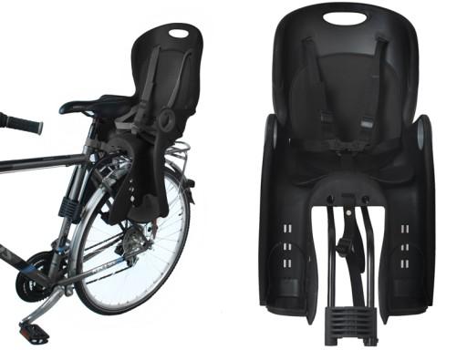 Fotel rowerowy FOTELIK na rower bagażnik pasy 5pkt