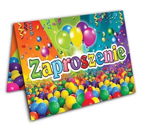 Zaproszenia Urodzinowe Na Urodziny Dla Dzieci 16wz 6569964286