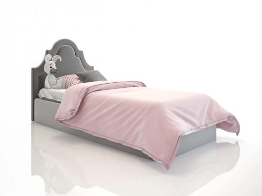 Tapicerowane łóżko Princess Pojedyncze