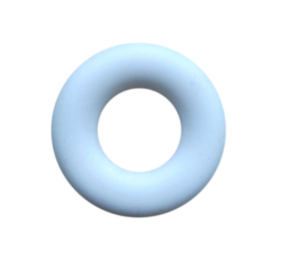 1szt silikonowa zawieszka - gryzak, biały