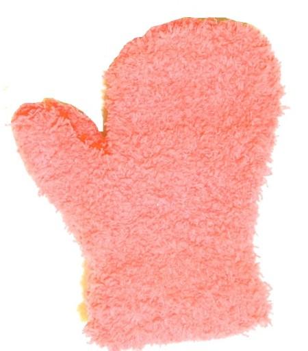 YO! Rękawiczki dziecięce 1p FROTA 10cm 62-74 peach