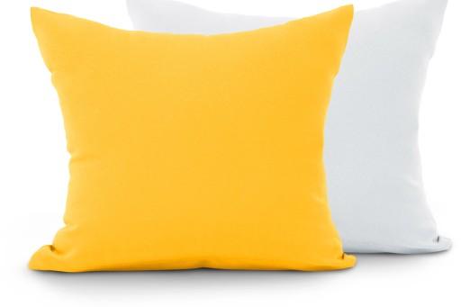 Poszewka Dekoracyjna Poduszka 40x40 Heaven żółta