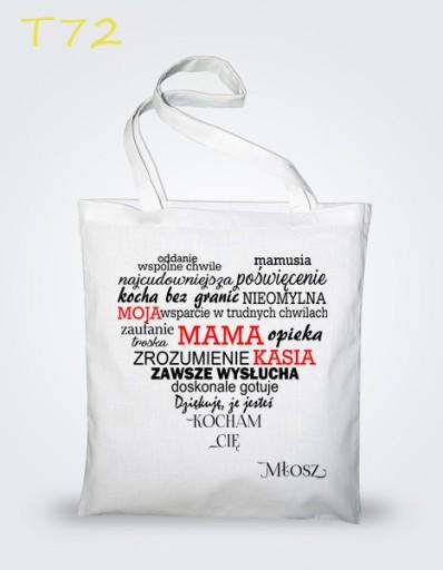 Eco torba z nadrukiem na Dzień Matki, Mamy
