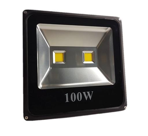 HALOGEN LAMPA NAŚWIETLACZ LED 100W 2X LED MOCNY !!