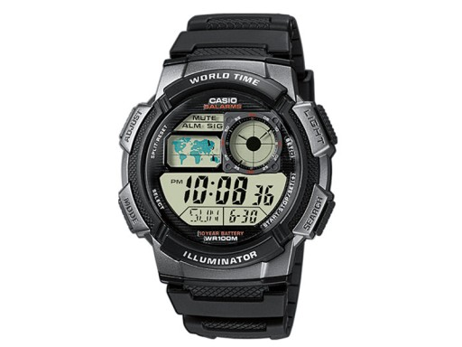 Zegarek dla chłopca komunia CASIO AE-1000W-1BVEF