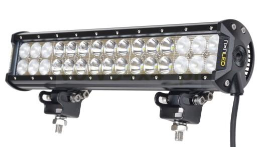 MOLDINGAS ZIBINTAS (LEMPOS-FAROS) PANELIS nXn LED 90W COMBO-MIX QUAD 37cm