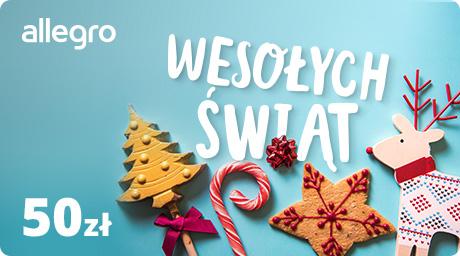 Karta Podarunkowa na Święta - 50 zł