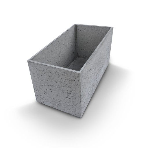 Fantastyczny Donica betonowa 100x50x50cm beton architektoniczny 7010481815 LU07