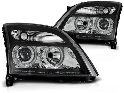 Opel Vectra C 02 05 Lampy Reflektory Black Ringi Ilawa Allegro Pl
