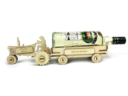 traktor wódowóz prezent 18 30 40 50 60 70 urodziny